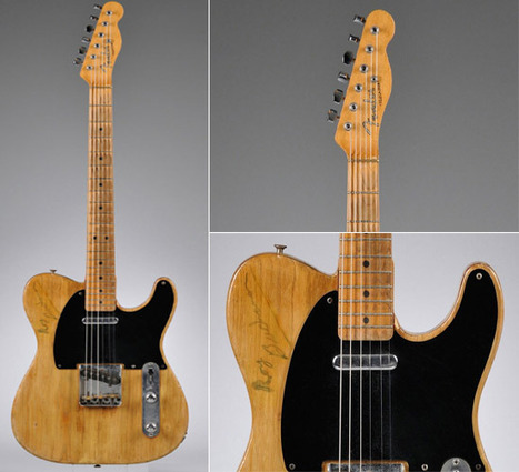 Vintage Fender Guitar estimated to fetch $100000 | Around the Music world | Scoop.it