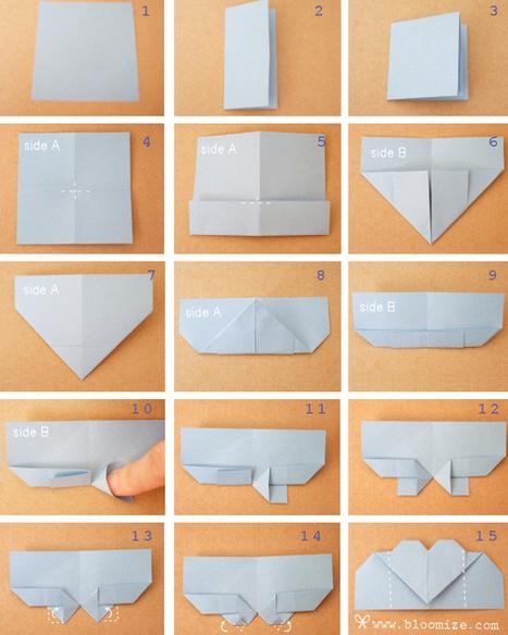 DIY: Origami Valentine Heart | Spoon & Tamago | Young Makers | Scoop.it