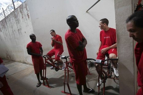 Brazil prisoners ride bikes toward prison reform | Random Geography | Scoop.it