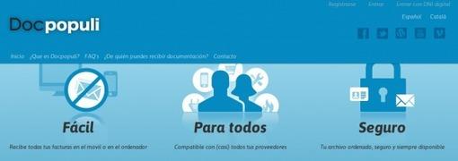 Docpopuli, gestión de facturas electrónicas domésticas y documentos | Educación a Distancia (EaD)