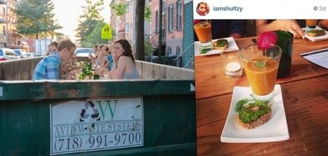 Une benne à ordures transformée en table gastronomique pour sensibiliser au gaspillage | Id marketing cuisine | Scoop.it