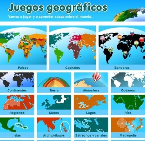 Sensacionales Juegos Interactivos para estudiar Geografía   Geografía   Scoop.it