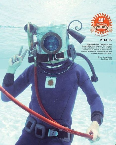 History of Kirby Morgan Dive Helmets   All about water, the oceans, environmental issues   Scoop.it