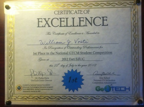 Taking First Place at the 2012 National Geospatial Technology Skills Competition | Geospatial Industry | Scoop.it
