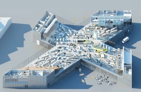 OMA BREAKS Ground on BMVR Library in Caen | The Architecture of the City | Scoop.it