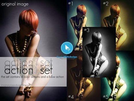 150 Scripts Photoshop pour améliorer vos créations   Graphisme etc...   Webdesign france   Scoop.it