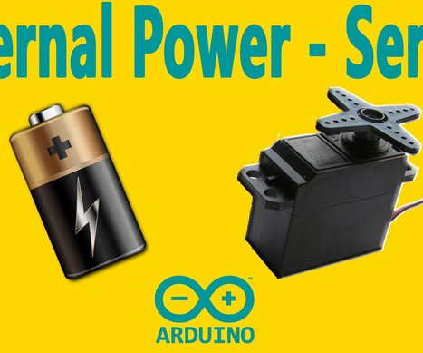 Arduino : How to Use a Servo Motor with an External Power | Raspberry Pi | Scoop.it