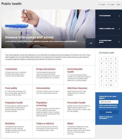 Public Health (VIC Health) | Australian Health | Scoop.it