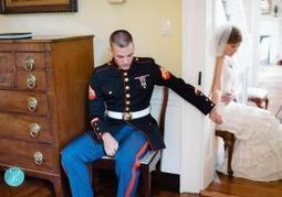 Intimate photo of Virginia couple holding hands around corner on wedding day goes viral  | It's Show Prep for Radio | Scoop.it