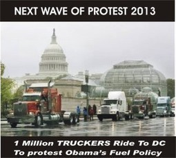 1 Million Truckers to Protest by Shutting America Down for 3 Days in October | alyssa | Scoop.it