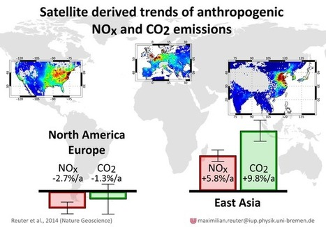 Measuring Carbon Dioxide and Nitrogen Dioxide Trends with Remote Sensing ~ GIS Lounge | Everything is related to everything else | Scoop.it