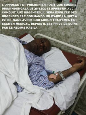 COMMUNIQUE DE PRESSE N° 19/ACAJ/2014: « Le Gouvernement congolais empêche M. Eugène DIOMI à se faire soigner » | EUGENE DIOMI NDONGALA, PRISONNIER POLITIQUE EN RDC | Scoop.it