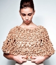 Cork 'n Clothes: Innovation: cut or knitted? Cork is shedding its naff, eco-geek image and becoming fashionable | Sustainability by Design | Scoop.it