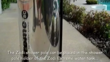 The Zodi Extreme SC Hot Shower - PART1- How To Setup.mp4 | campingshowerworld.com | Scoop.it