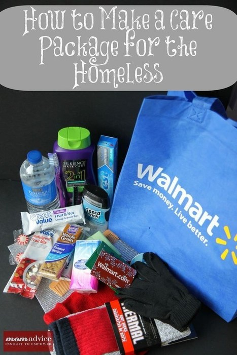 How to Make a Homeless Care Package (Free Printable Supplies List) | iPads, MakerEd and More  in Education | Scoop.it