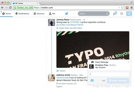 Twitter to Launch Real Time Pop Up Notifications | MarketingHits | Scoop.it