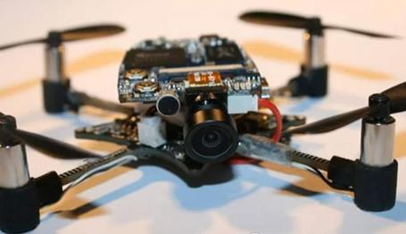 This Hackable Mini Drone Can Now Be Yours [VIDEO] | Gorgeous Gadgetry | Scoop.it