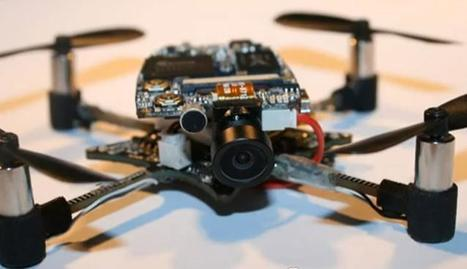 This Hackable Mini Drone Can Now Be Yours [VIDEO] | Wonderful Gadgets | Scoop.it