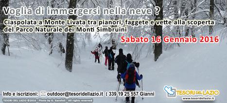 Monte Livata - Ciaspolata tra faggete e vette del Parco dei Monti Simbruini || Leggi tutti i dettagli su Tesori del Lazio | I tesori del Lazio - Treasures of Latium - Magazine | Scoop.it
