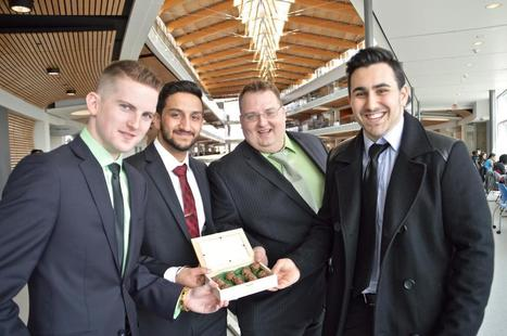 Cannabis & chocolate a winning business idea at SFU entrepreneurship competition   Business Model Design   Scoop.it