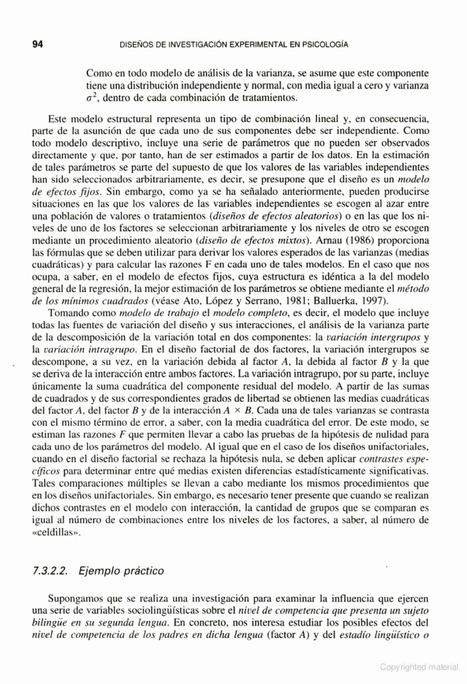 Diseños de investigación experimental en psicología | Investigación Educativa | Scoop.it