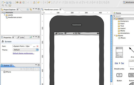 20 Excellent Wireframing Tools for Mobile   journalisme plurimédia   Scoop.it