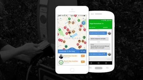 Nieuwe app brengt auto-oplaadpunten in kaart | ekokooistra | Scoop.it