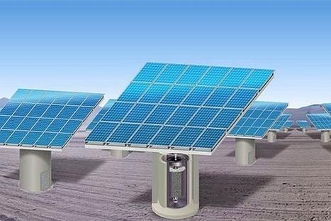 Energiestro : stocker l'énergie solaire dans des cylindres en béton | EFFICYCLE | Scoop.it