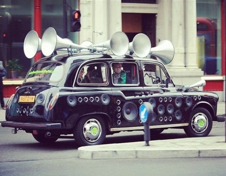Taxi sonore | streetmarketing | Scoop.it