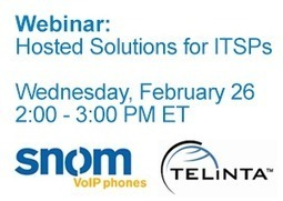 Webinar: Solutions For Internet Telephony Service Providers | VOIP | Scoop.it