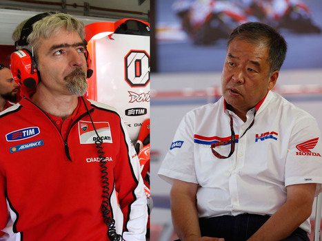 "MotoGP: ""Open"" war brewing between Ducati and Honda 