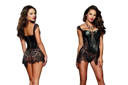 Elegance Behind Leather Corset | CorsetCenter.com | Corsets | Scoop.it