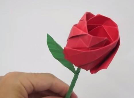delCamp.cat: Cinc idees originals per fer una rosa de Sant Jordi a mà | Recull diari | Scoop.it