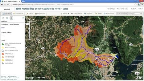 Web Map ArcGIS Online   Bacia Hidrográfica do Rio Cubatão do Norte - Solos   ArcGIS Geography   Scoop.it