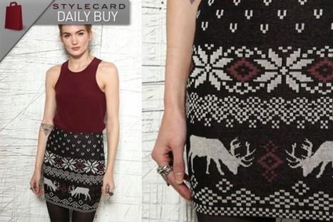 Daily Buy: Fair Isle Skirt   StyleCard Fashion Portal   StyleCard Fashion   Scoop.it