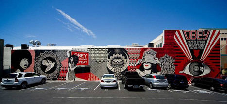 Fleeting Street Art: Fairey Mural Obscured | the mural archive project | Scoop.it