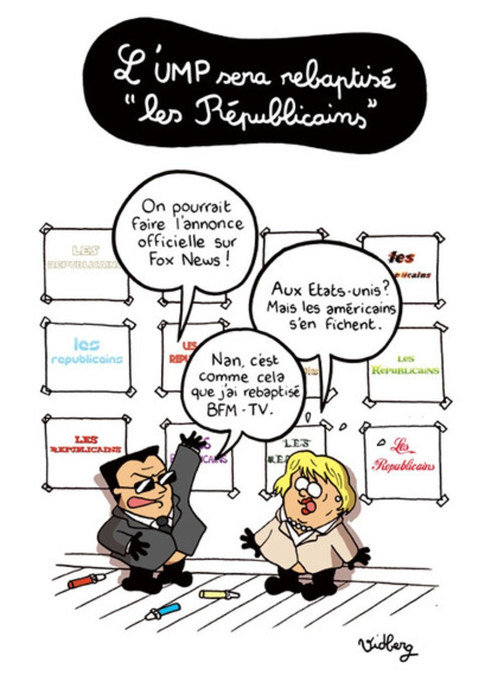 L'UMP sera rebaptisé «les Républicains» | Baie d'humour | Scoop.it