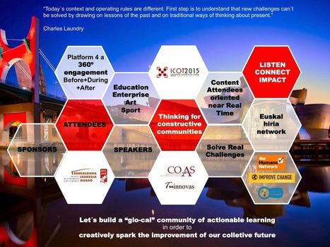 Cibercomunidades que aprenden, influyen, emprenden,... #ICOT2015 | Mikel Agirregabiria | Educacion, ecologia y TIC | Scoop.it