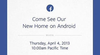 Facebook terrà un evento legato ad Android il 4 aprile 2013 | Android News Italia | Scoop.it