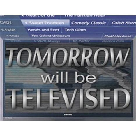 Tomorrow Will Be Televised @UBCSimonTWBT   a must  listen to for those focused on innovation & trends in video | TV | Media | Compendiums | Scoop.it