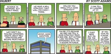 Dilbert by Scott Adams | Strategy Matrix | Scoop.it
