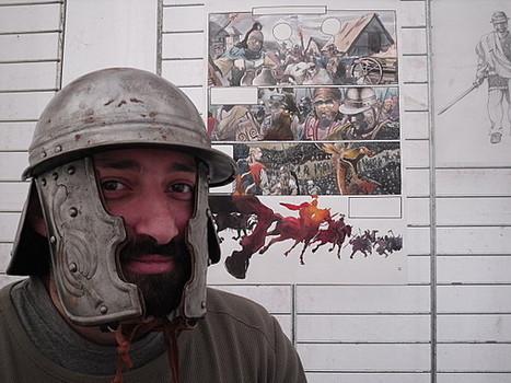 La Guerre des Gaules à Niederbronn (2) : rencontre avec Vincent Pompetti et Tarek - Les Mediomatrici   La Guerre des Gaules en BD   Scoop.it