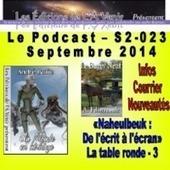 23e émission de la série 2 du Podcast des Éditions de L'À Venir | podcasts SF & autres | Scoop.it
