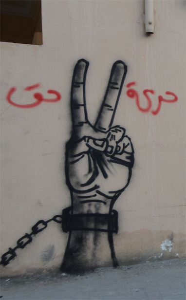 Revolutionary graffiti art on the walls of Barbar, Bahrain | Human Rights and the Will to be free | Scoop.it