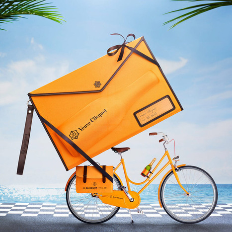 MarketingTribune | Veuve Clicquot champagne komt met serie accessoires | Design | The Champagne Scoop | Scoop.it