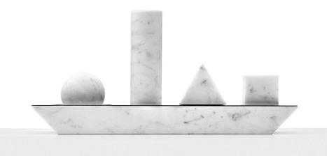 elementare marble kitchenware utensils by studio lievito | Marble Science & Arts | Scoop.it