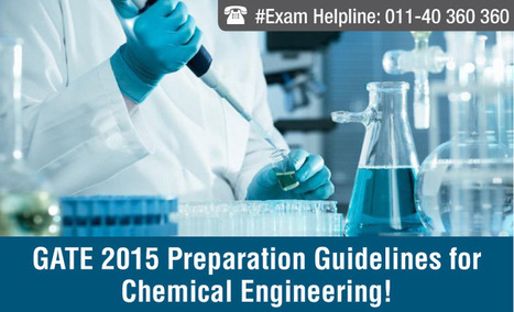 GATE 2015 Preparation Guidelines for Chemical Engineering | JEE Main 2015 | Scoop.it