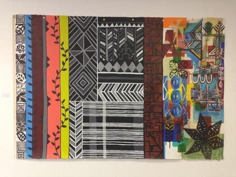 Celebrated Auckland artist showcases her Tongan heritage   Matangi Tonga   Art of the Pacific   Scoop.it