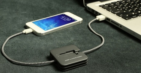 Portable Charging Device Jump-Starts Your Dead Smartphone Battery | Tools You Can Use | Scoop.it