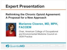 Opioid Agreements - Expert Commentary on QuantiaMD | Fit for life and work | Scoop.it